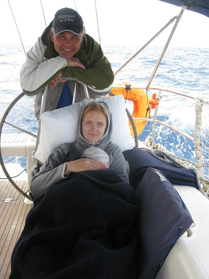 Дети на яхтеАня1