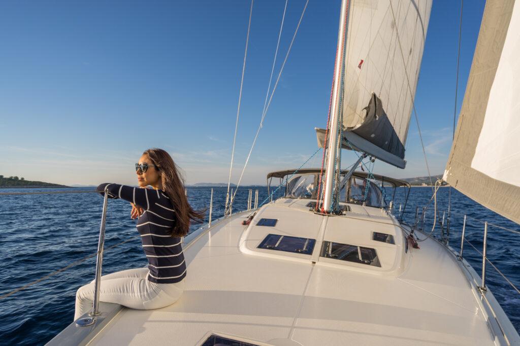 первое путешествие на яхте