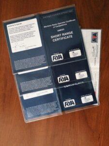 Сертификат радиооператора