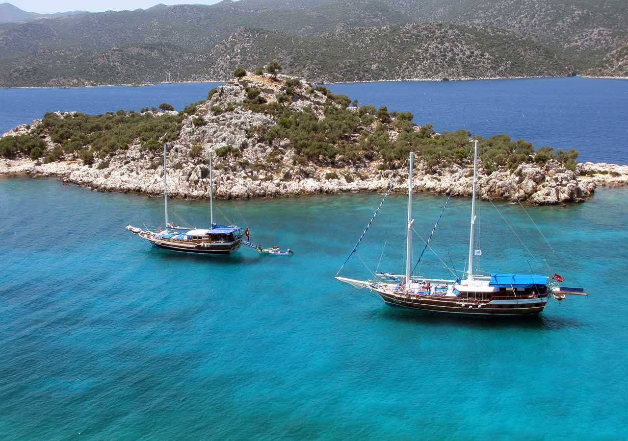 Яхтинг в Турции. Отдых на яхте в Турции