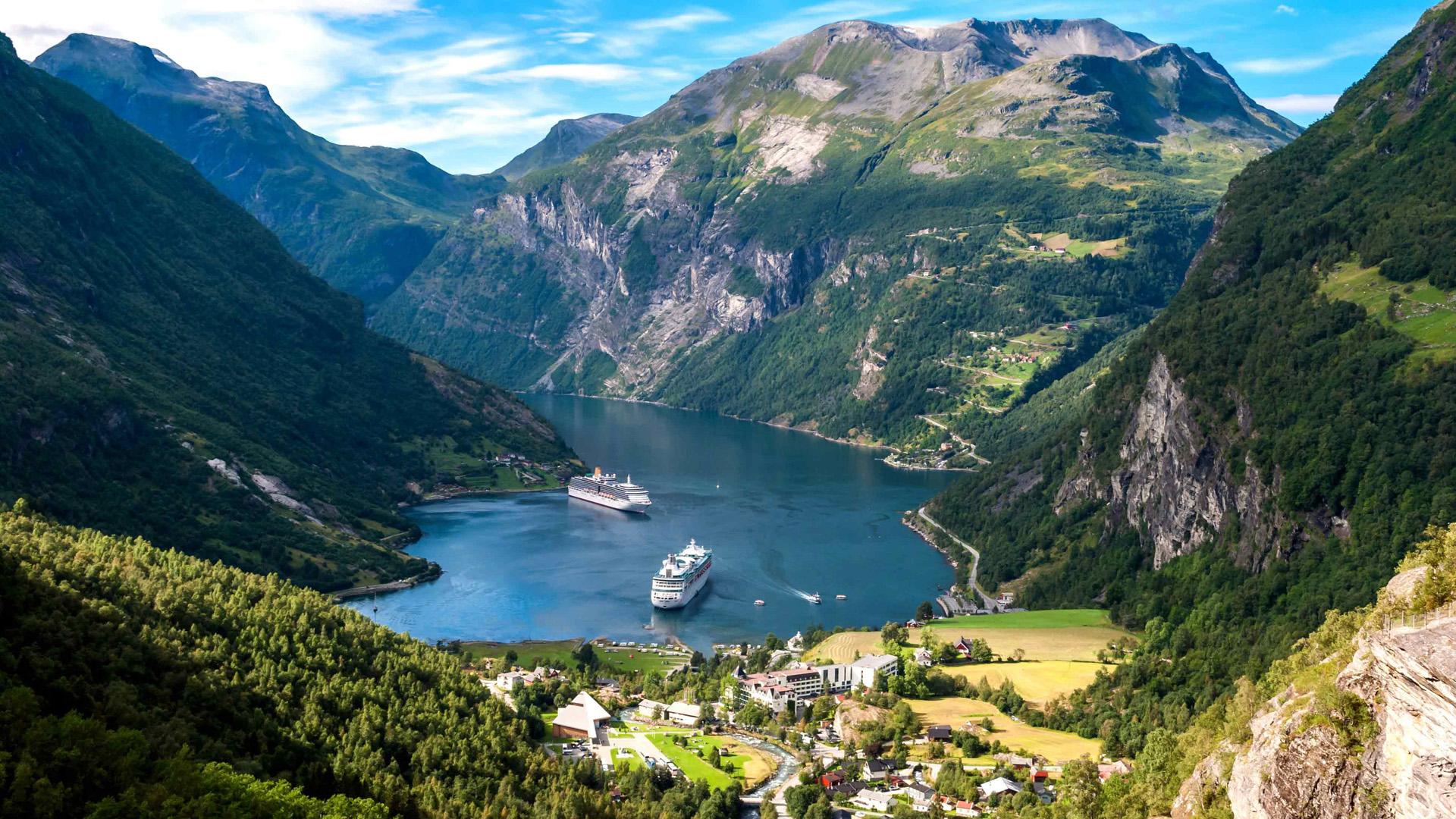 Отдых на яхте в Норвегии