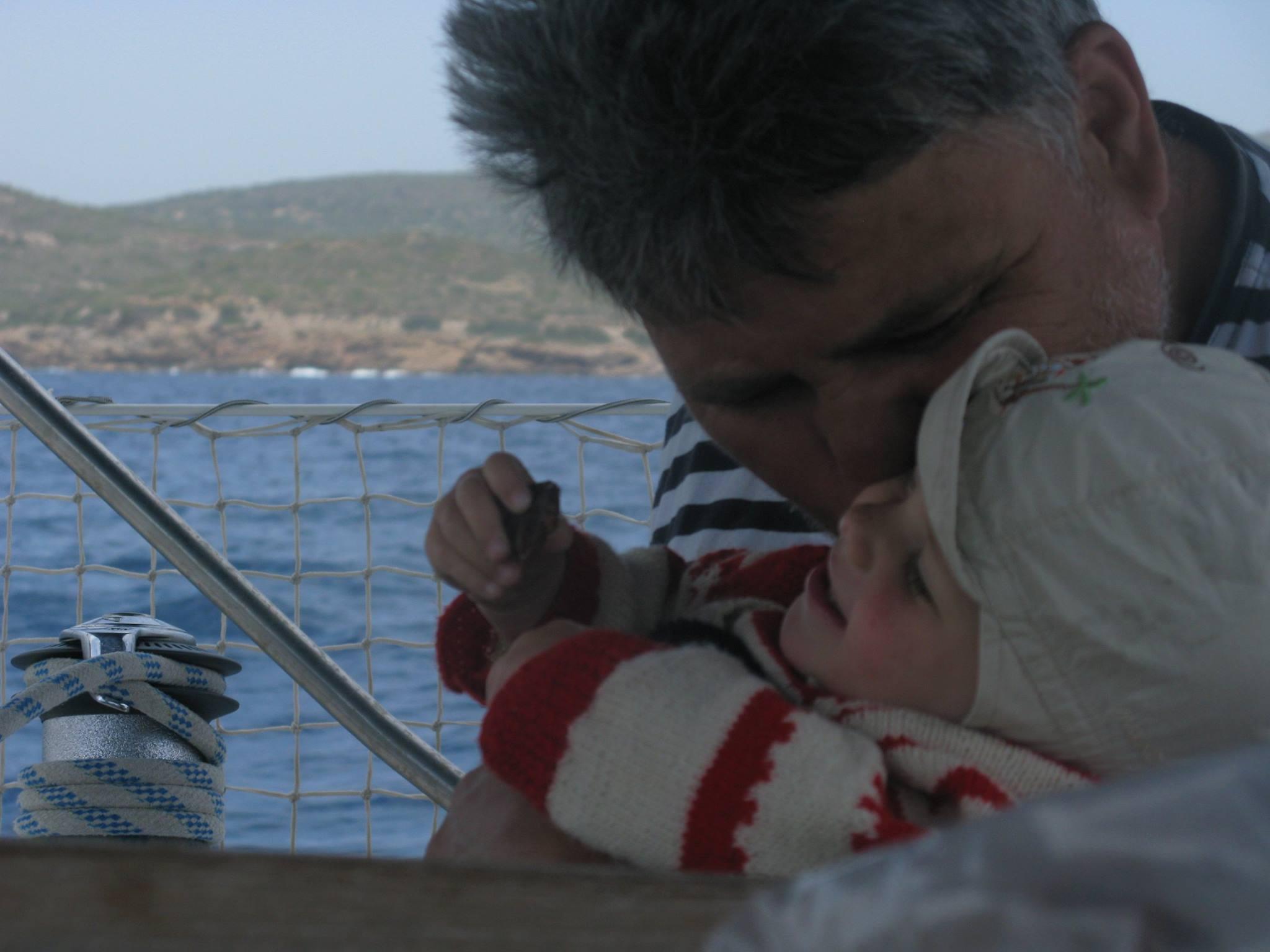 Дети на яхтеАня3