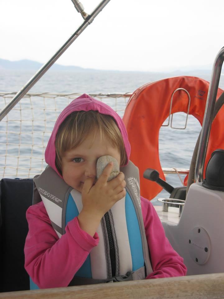 Дети на яхтеМаруся