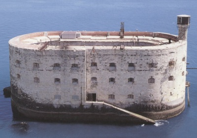 Fort Boyard and fortress La – Rochelle, France